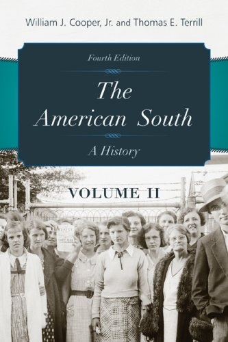 American South A History 4th edition cover