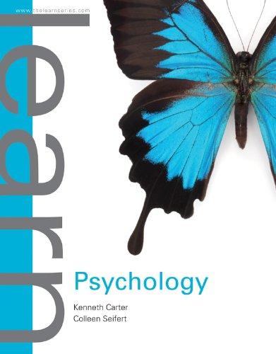Learn Psychology   2013 edition cover