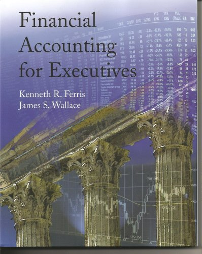 Financial Accounting for Executives  N/A 9780978727987 Front Cover