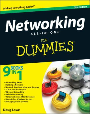 Networking All-in-One for Dummies�  5th 2012 edition cover