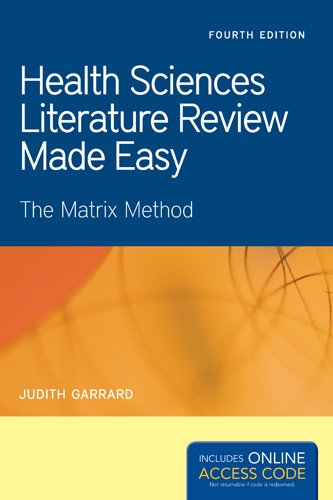 Health Sciences Literature Review Made Easy  4th 2014 edition cover