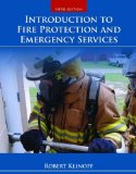Introduction to Fire Protection and Emergency Services  5th 2015 edition cover