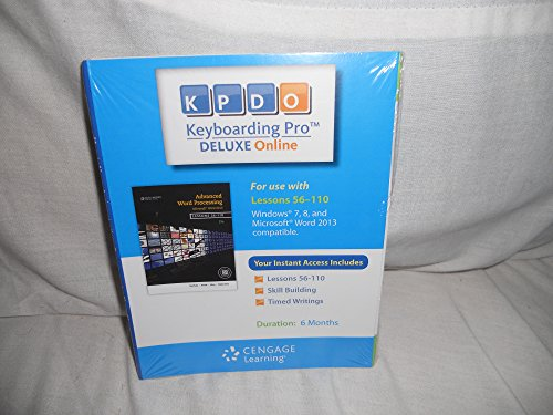 KEYBOARDING PRO DELUXE-6 MONTH ACCESS   N/A 9781285176987 Front Cover