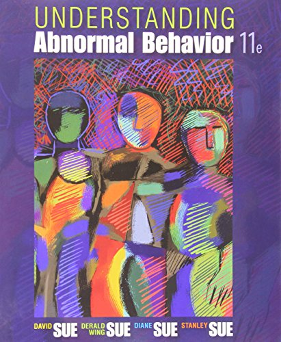 Understanding Abnormal Behavior  11th 2016 9781305630987 Front Cover