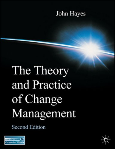Theory and Practice of Change Management Second Edition 2nd 2006 (Revised) edition cover