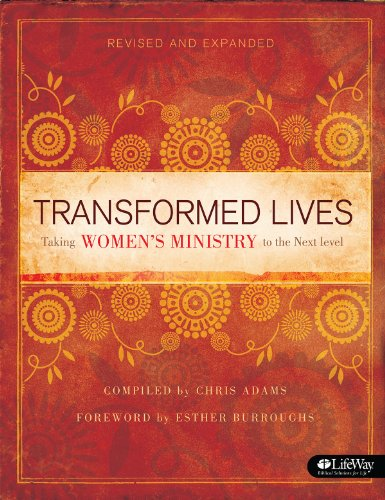 Transformed Lives Taking Women's Ministry to the Next Level 2nd 1999 edition cover