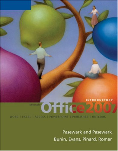 Microsoft Office 2007 Introductory Course  2008 9781423903987 Front Cover