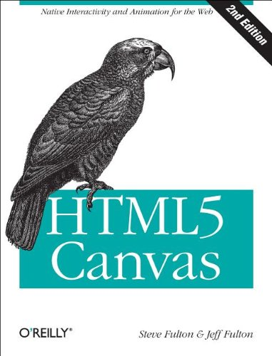 HTML5 Canvas  2nd 2013 edition cover