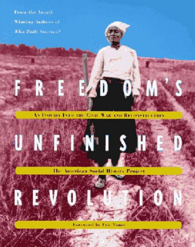 Freedom's Unfinished Revolution An Inquiry into the Civil War and Reconstruction  1996 edition cover