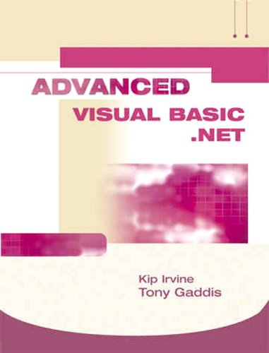 Advanced Visual Basic.Net  3rd 2005 (Revised) 9781576760987 Front Cover