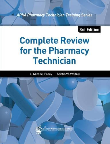 Complete Review for the Pharmacy Technician, 3rd Edition  3rd 2014 edition cover