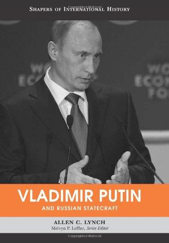 Vladimir Putin and Russian Statecraft   2011 edition cover