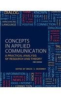 Concepts in Applied Communication   2013 9781621312987 Front Cover
