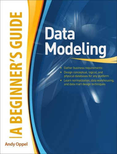 Data Modeling A Beginner's Guide  2010 edition cover