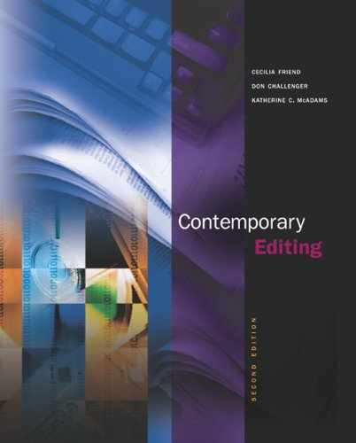 Contemporary Editing 2nd 2005 9780072853988 Front Cover