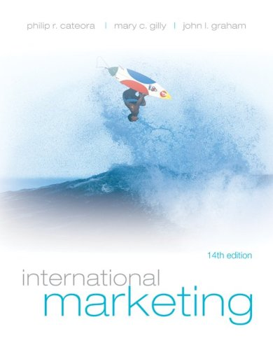 International Marketing 14th 2009 edition cover