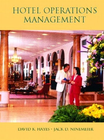 Hotel Operations Management   2004 9780130995988 Front Cover