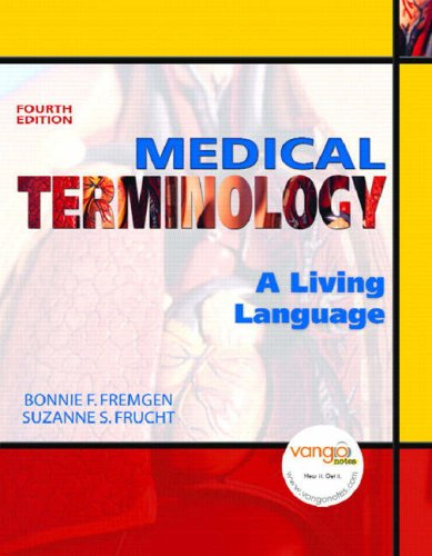 Medical Terminology A Living Language 4th 2009 edition cover