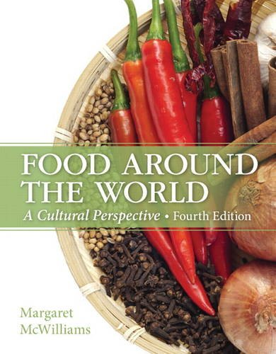Food Around the World A Cultural Perspective 4th 2015 edition cover