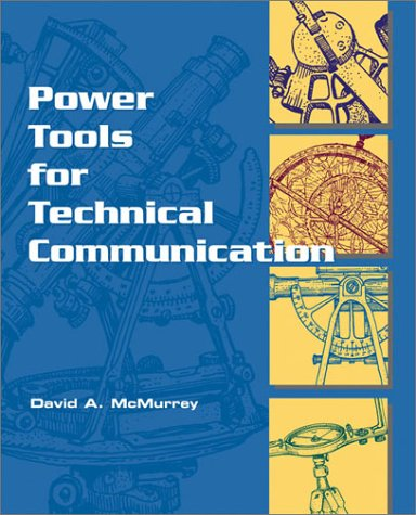 Power Tools for Technical Communication   2002 edition cover