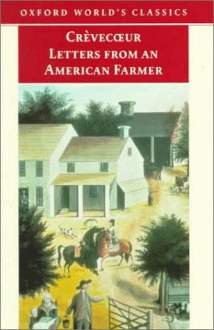 Letters from an American Farmer   1998 9780192838988 Front Cover