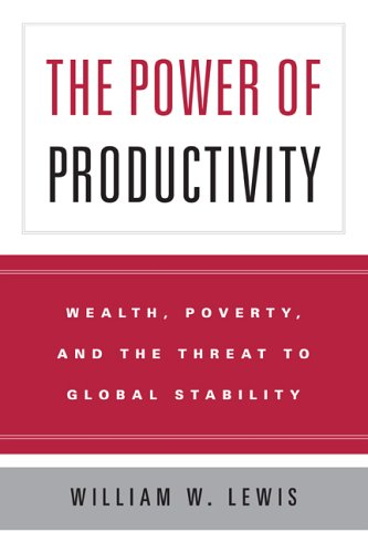 Power of Productivity Wealth, Poverty, and the Threat to Global Stability  2005 edition cover