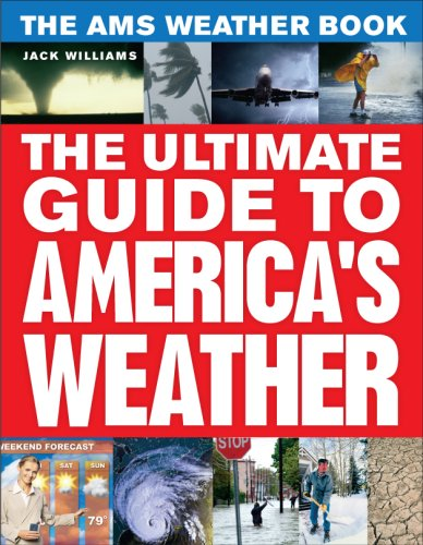 AMS Weather Book The Ultimate Guide to America's Weather  2009 edition cover