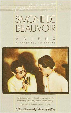 Adieux A Farewell to Sartre N/A edition cover