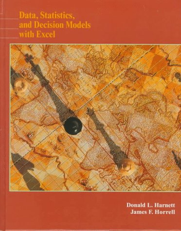 Data, Statistics, and Decision Models with Excel   1998 edition cover