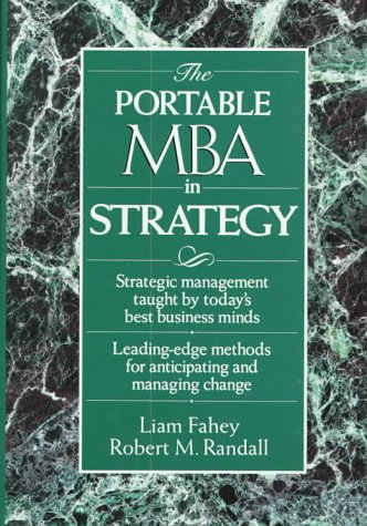 Portable MBA in Strategy  1st 1994 9780471584988 Front Cover