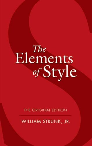Elements of Style   2006 edition cover