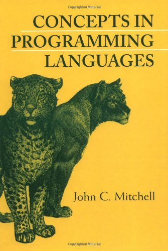 Concepts in Programming Languages   2001 9780521780988 Front Cover