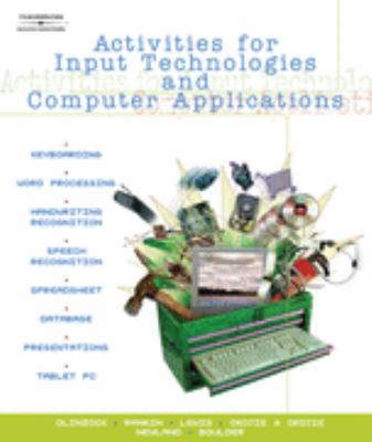 Activities for Input Technologies and Computer Applications   2006 9780538441988 Front Cover