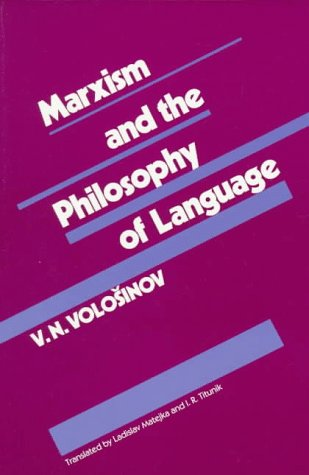 Marxism and the Philosophy of Language   1973 edition cover