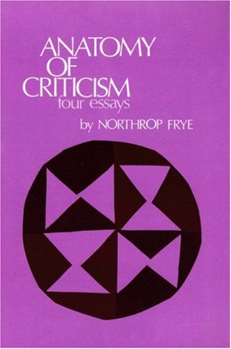 Anatomy of Criticism   1971 edition cover