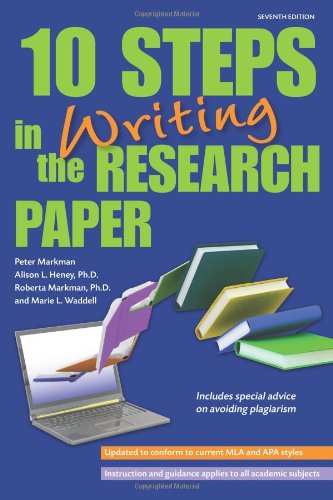 10 Steps in Writing the Research Paper  7th 2011 (Revised) edition cover