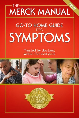 Merck Manual Go-To Home Guide for Symptoms   1978 edition cover