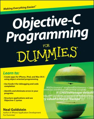 Objective-C Programming for Dummies   2012 edition cover