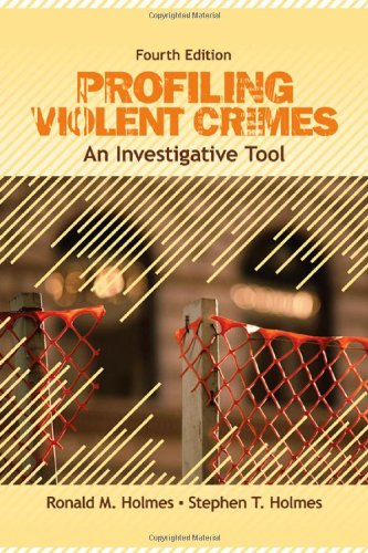 Profiling Violent Crimes An Investigative Tool 4th 2009 edition cover