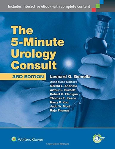 5-Minute Urology Consult  3rd 2015 (Revised) edition cover