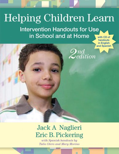 Helping Children Learn Intervention Handouts for Use in School and at Home, Second Edition 2nd 2010 edition cover