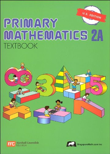 PRIMARY MATHEMATICS 2A-TEXTBOO N/A edition cover