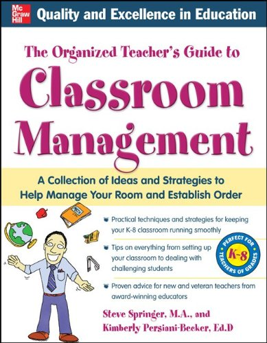 Organized Teacher's Guide to Classroom Management with CD-ROM   2011 edition cover