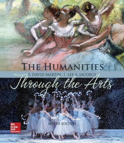 Humanities Through the Arts:  9th 2014 edition cover