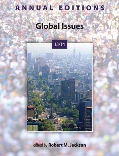 Global Issues 13/14: 29th 2013 edition cover