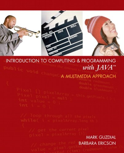 Introduction to Computing and Programming with Java A Multimedia Approach  2007 edition cover