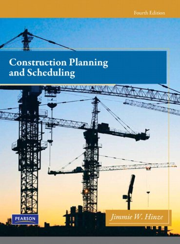 Construction Planning and Scheduling  4th 2012 edition cover