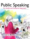 Public Speaking An Audience - Centered Approach Plus NEW MyCommunicationLab with Pearson EText -- Access Card Package 9th 2015 edition cover