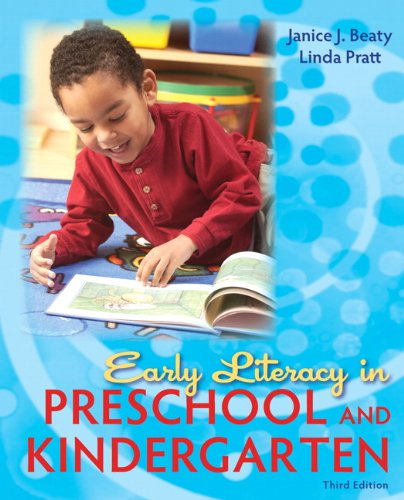 Early Literacy in Preschool and Kindergarten  3rd 2011 edition cover
