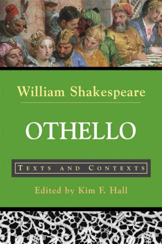Othello Texts and Contexts  2007 edition cover